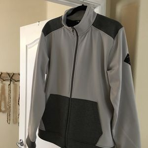 Men's North Face zip up. Size: L
